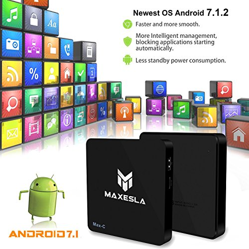 Maxesla Max-C 4K Android TV Box | TV Box Reviews